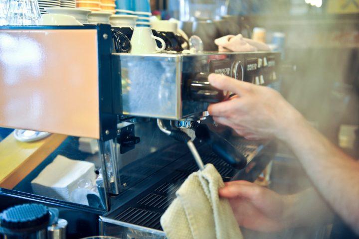Reinigung Espressomaschine