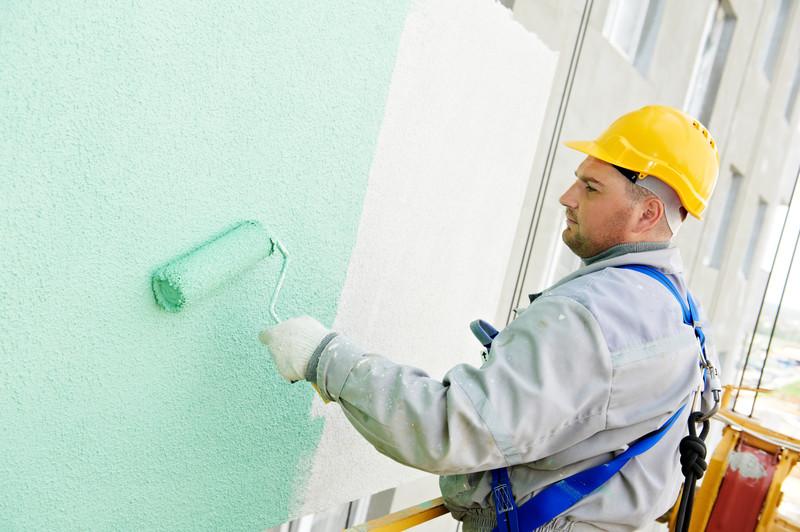 Fassade streichen » Welche Farbe ist geeignet?