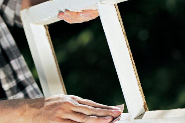 Fenster aufarbeiten