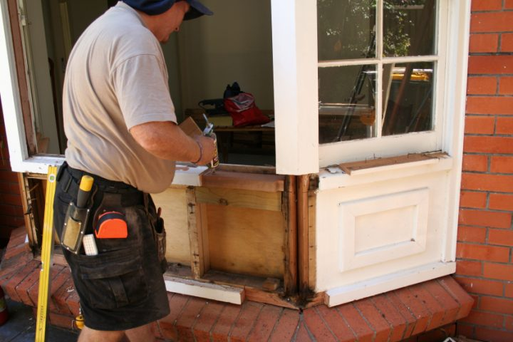 Fenster umbauen