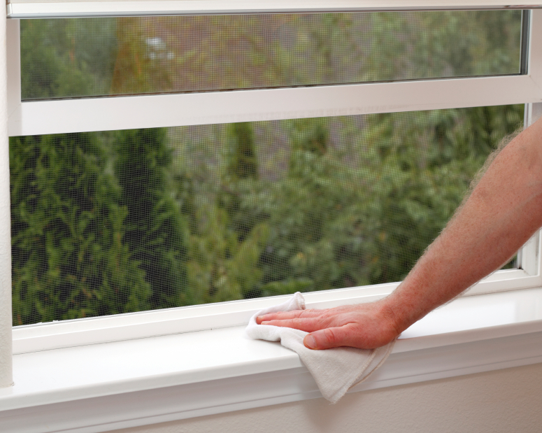 Fensterbank reinigen das sollten sie beachten - Fenster putzen material ...
