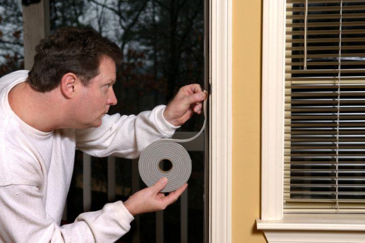 Fensterdichtband anbringen