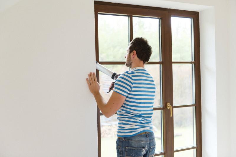Fensterdichtung anbringen