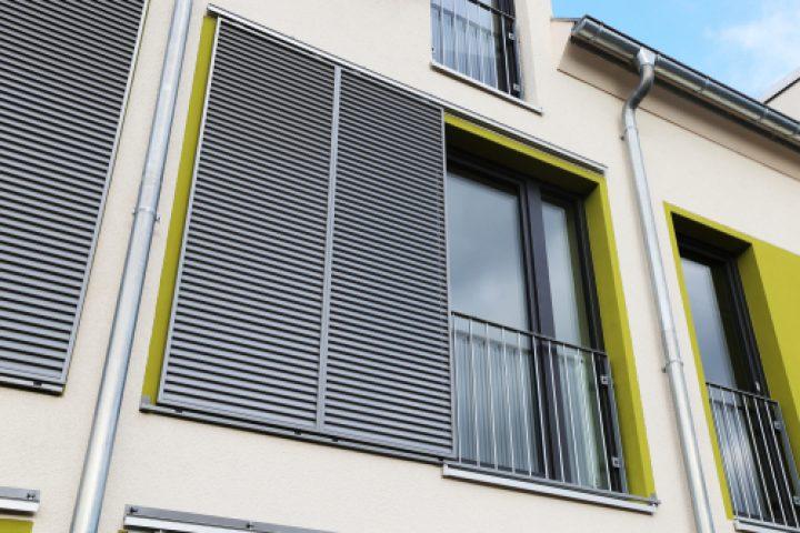 Fensterläden zum Schieben Eigenbau