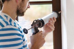 Fensterrahmen einbauen