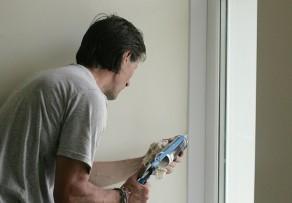 Fensterrahmen reparieren