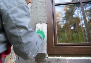Fensterrahmen verputzen darauf sollten sie achten - Fenster holzrahmen putzen ...