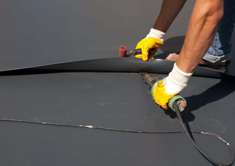 Fertiggaragen Dach Abdichten Diese Moglichkeiten Haben Sie