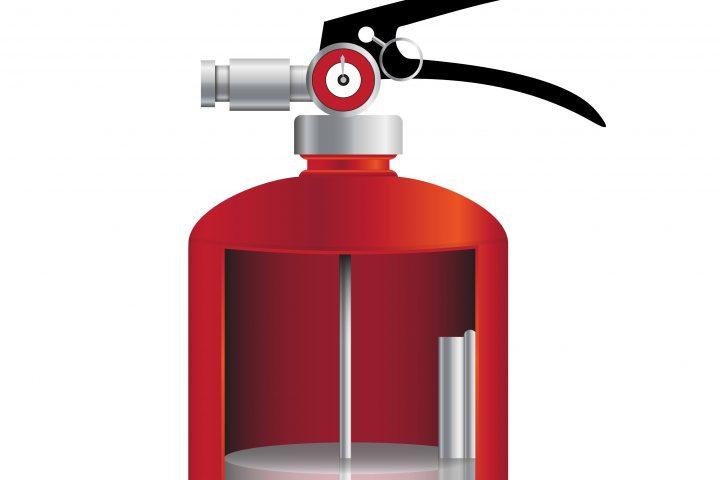 Feuerlöscher Aufbau