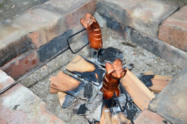 feuerstelle mauern » anleitung in 4 schritten,