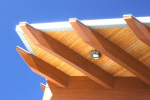 Flachdach Holz