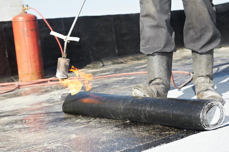 Flachdachsanierung Bitumen
