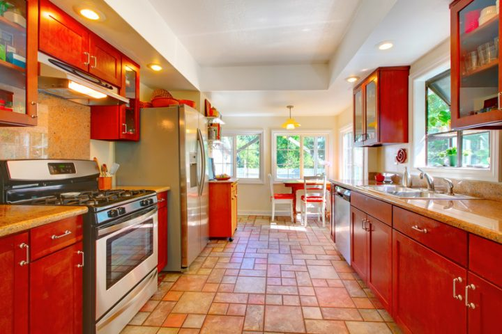 Fliesen für Küchenboden