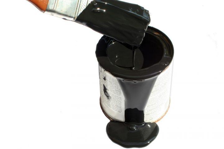 Fliesenlack schwarz