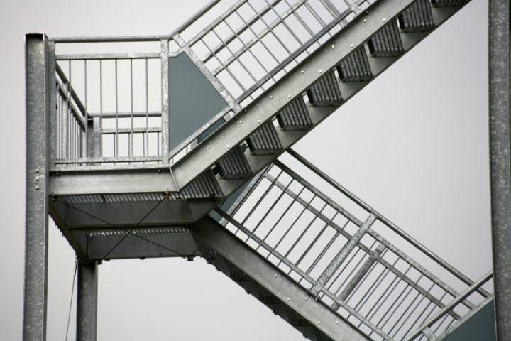 Fluchttreppe Anforderungen