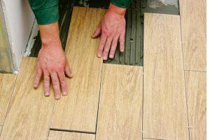 Fußboden Fliesen Holzoptik