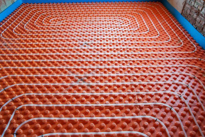 Fußbodenheizung Durchfluss