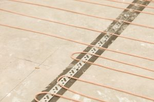 Fußbodenheizung elektrisch verlegen