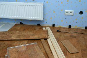 Fußbodenheizung erneuern