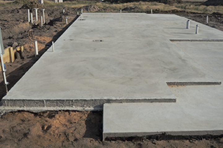 Fußbodenheizung in Bodenplatte