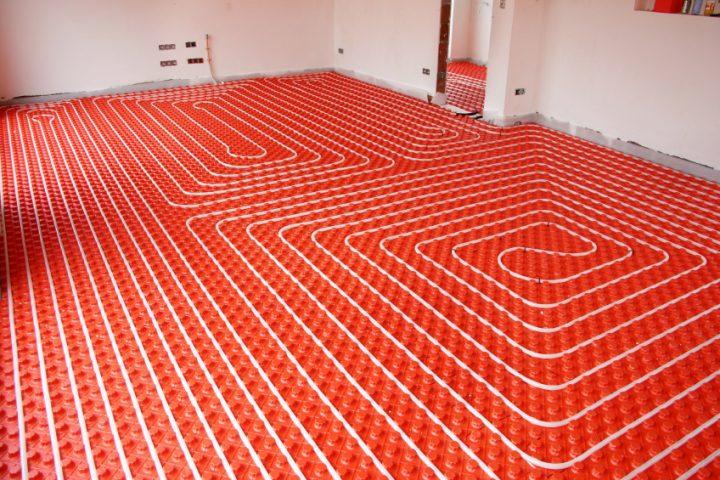 Fußbodenheizung kein Durchfluss