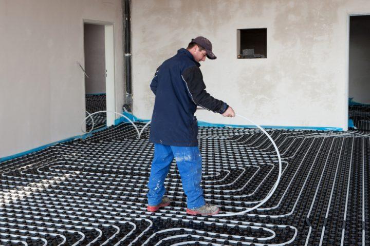 Häufig Fußbodenheizung selber bauen » Detaillierte Anleitung KX86
