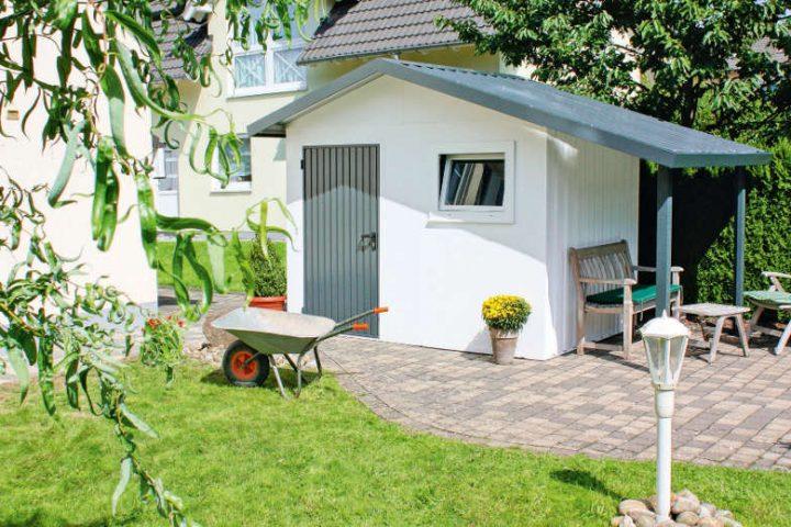 Bekannt Bodenplatte für das Gartenhaus selber bauen - Eine Anleitung LK14