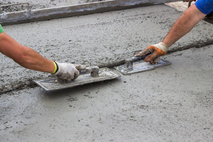 Fußboden Aus Beton Gießen ~ Fußboden betonieren so geht s ganz einfach