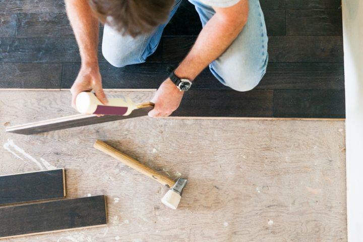 Fußboden aufarbeiten