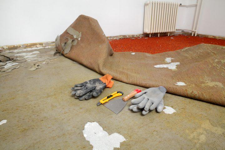 Fußboden Renovierung