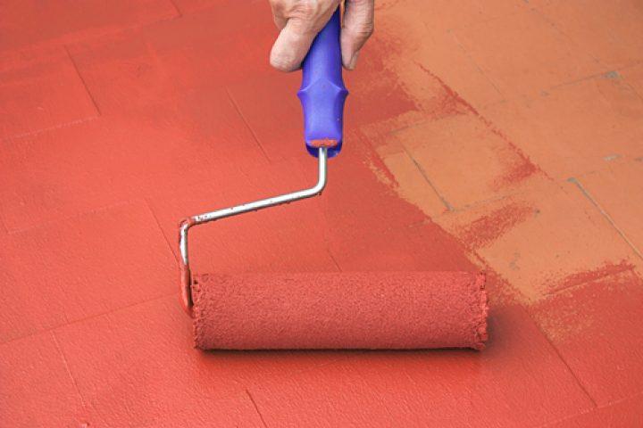 Fußboden Farbe