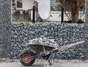 Gabionen bauen ohne Fundament