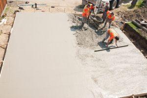 Garagenboden betonieren