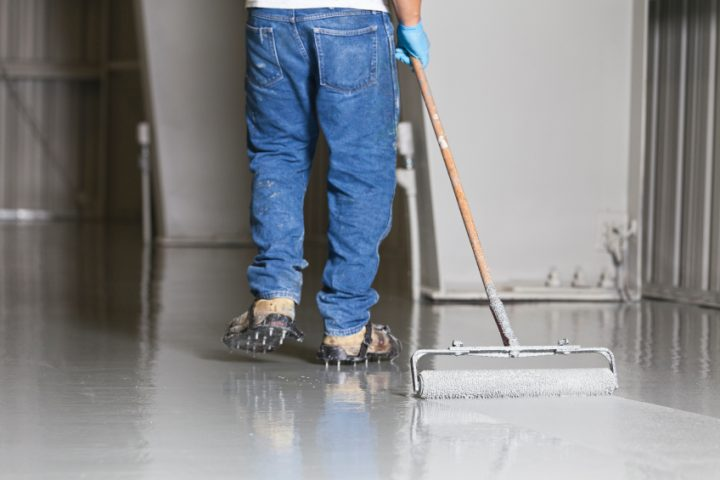 Garagenboden fliesen oder streichen