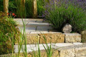 Garten Treppenstufen
