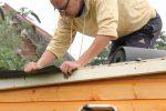 Gartenhaus Dacheindeckung