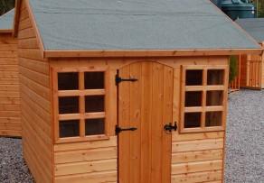 Gartenhaus Dachpappe
