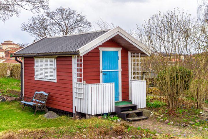 Extrem Gartenhaus schwedenrot streichen » So gehen Sie vor DM53