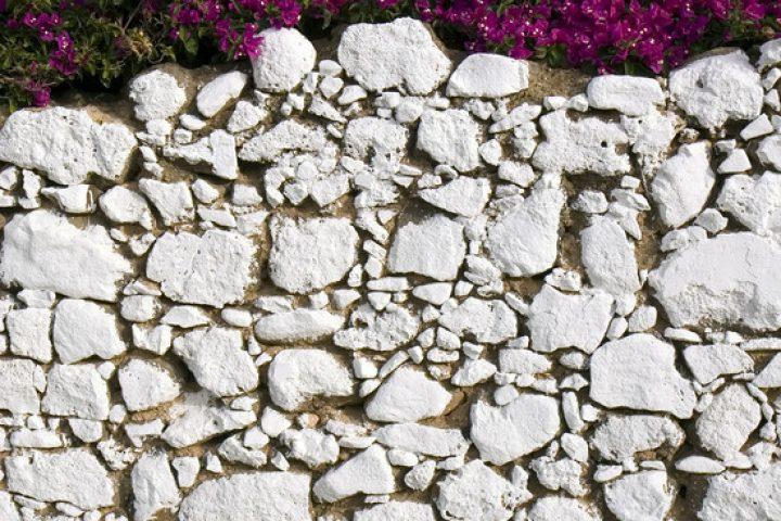Gartenmauer Naturstein