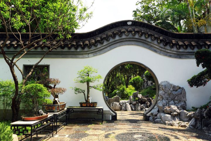 Gartenmauer verputzen