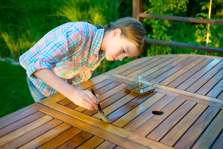 Gartenmöbel Holz Pflege