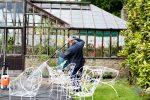 Gartenmöbel säubern