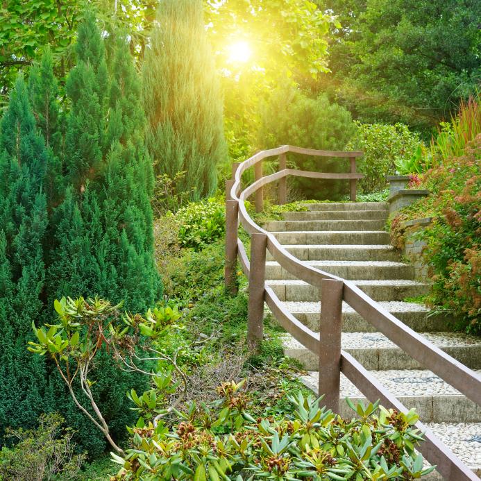 Gartentreppe anlegen von der planung bis zur treppe - Gartentreppe hang ...
