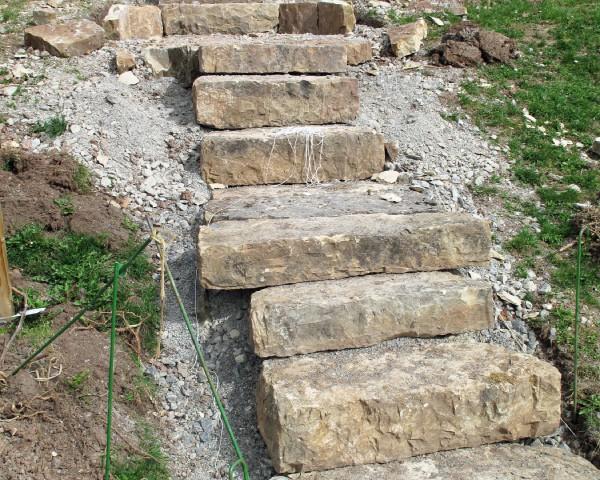 Gartentreppe selber bauen » Eine einfache Bauanleitung