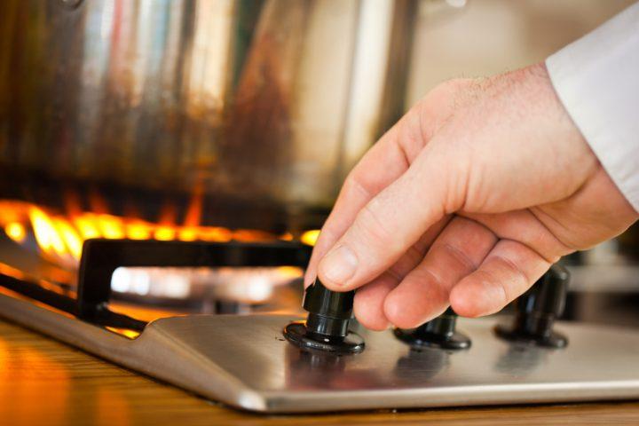 Wie funktioniert ein Gasherd?