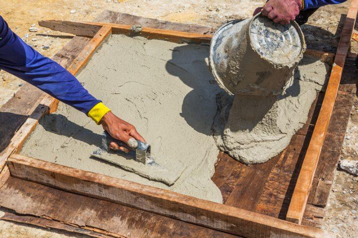 Gehwegplatten Selber Gießen So Wirds Gemacht - Farbige betonplatten