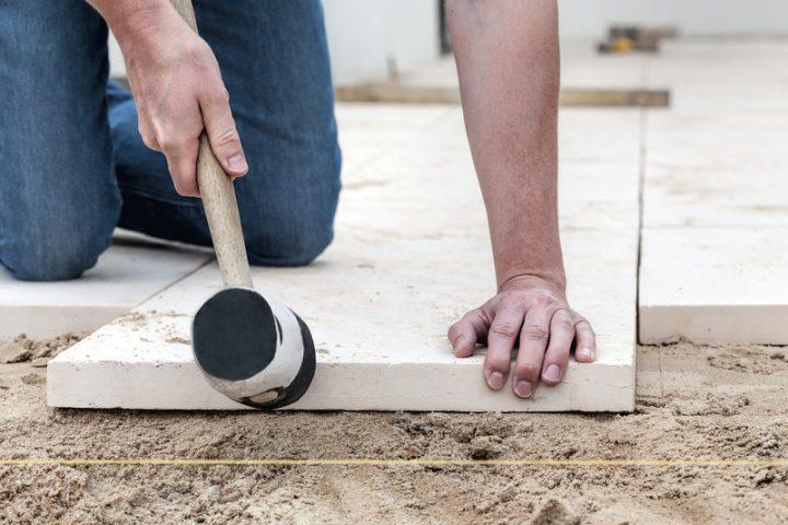 Gehwegplatten Verlegen » Schritt Für Schritt