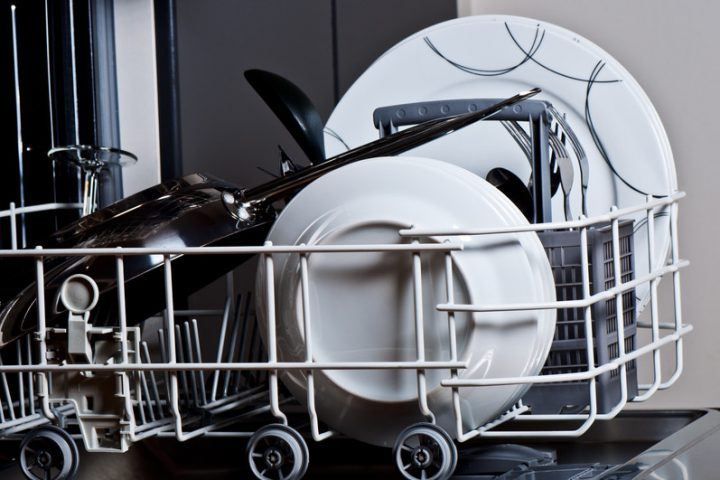 Geschirrspüler Wassertasche reinigen