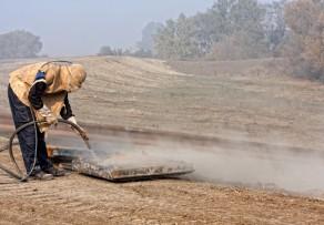 Gesundheitsgefahren beim Sandstrahlen