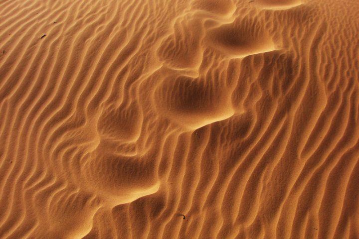 Gewaschener Sand